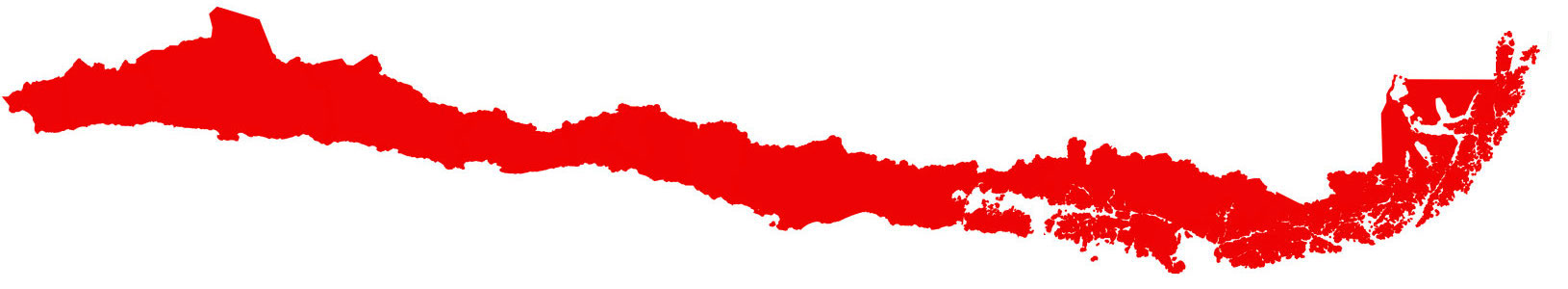 red chile map